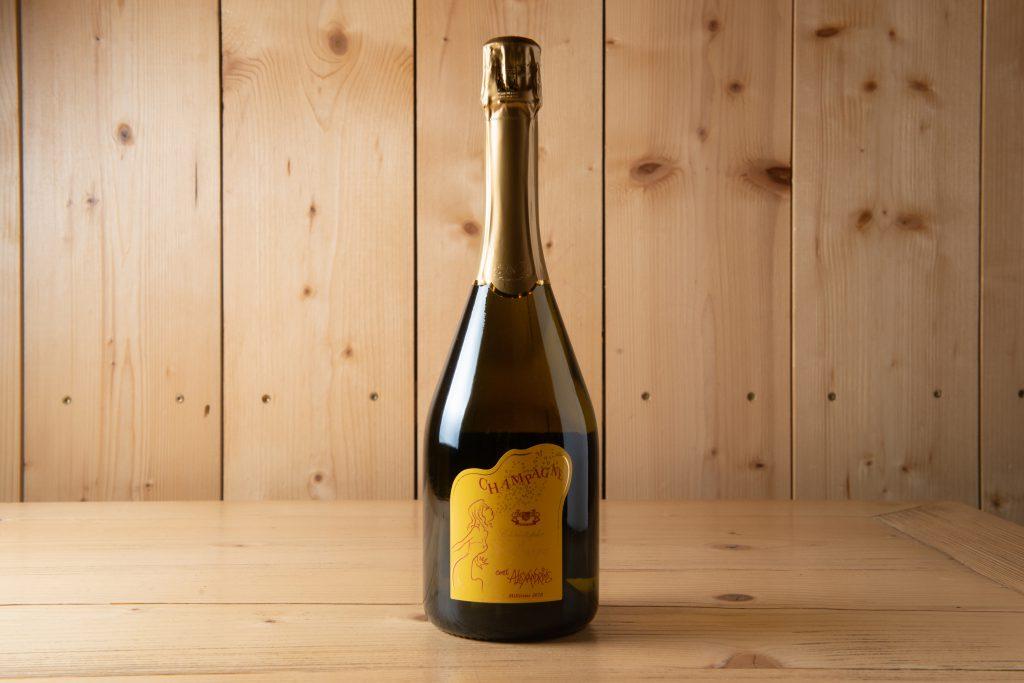 Christophe Lefevre Champagne Cuvée Alexandrine Blanc de Blanc. Pas dosè