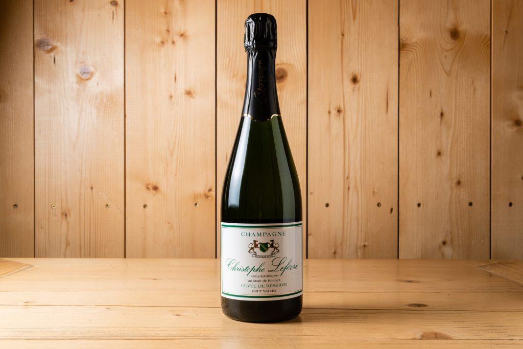 Christophe Lefevre Champagne Cuvée de Reserve Brut